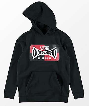 Vans x Independent Boys Black Hoodie