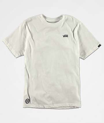 Vans x Independent Boys White T-Shirt