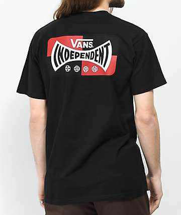Vans x Independent Logo Black T-Shirt