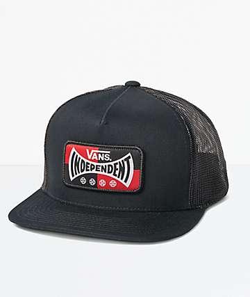 Vans x Independent gorra de camionero negra