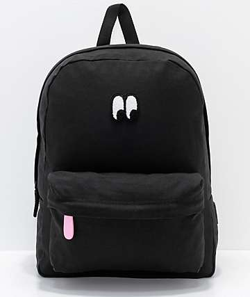 Vans x Lazy Oaf Eyeball Black Backpack