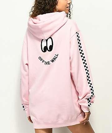 Vans x Lazy Oaf Pink Hoodie
