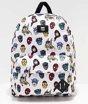 Vans x Marvel Old Skool II Avengers mochila