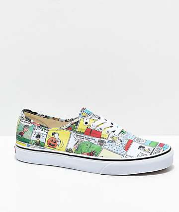 Vans Authentic X Peanuts Collaboration KIaolOUxI