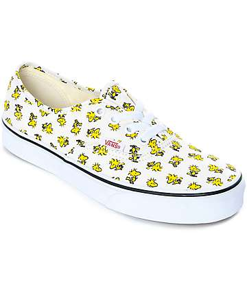 Vans x Peanuts Authentic Woodstock Skate Shoes