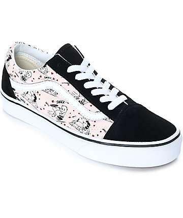 Vans x Peanuts Old Skool Smack Pearl Skate Shoes