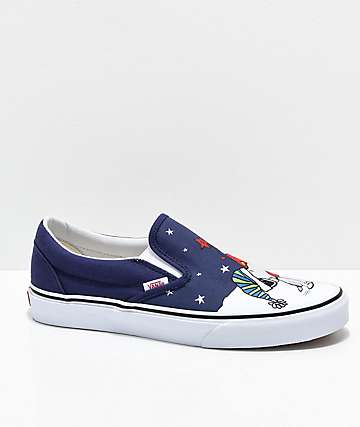 Vans x Peanuts Slip-On Charlie Tree Skate Shoes