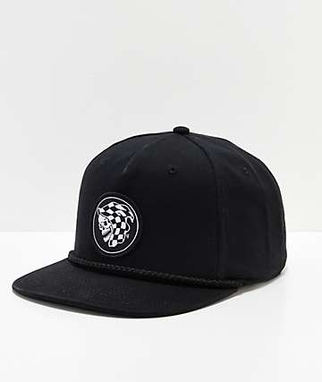 Vans x Sketchy Tank Creep Up Black Snapback Hat