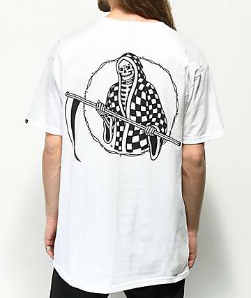 Vans x Sketchy Tank Creep Up camiseta blanca