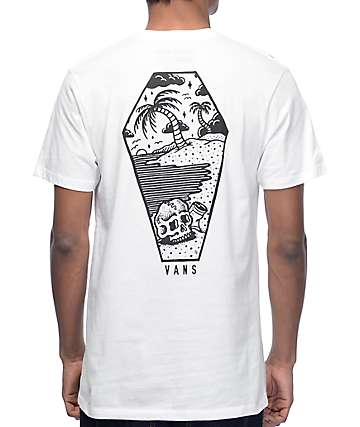 Vans x Sketchy Tank Sketched Out White T-Shirt