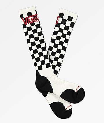 Vans x Smartwool calcetines de snowboard a cuadros
