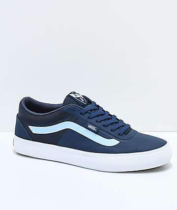 Vans x Spitfire AVE Rapidweld Pro Lite Dress Blue & White Skate Shoes