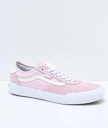 Vans x Spitfire Chima Pro II zapatos de skate en rosa y blanco