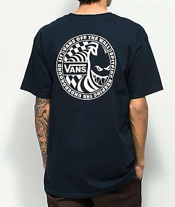 Vans x Spitfire II Navy T-Shirt