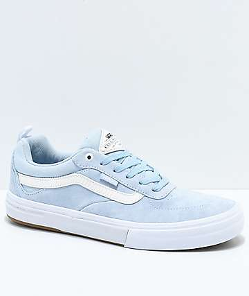 Vans x Spitfire Walker Pro Baby Blue Skate Shoes