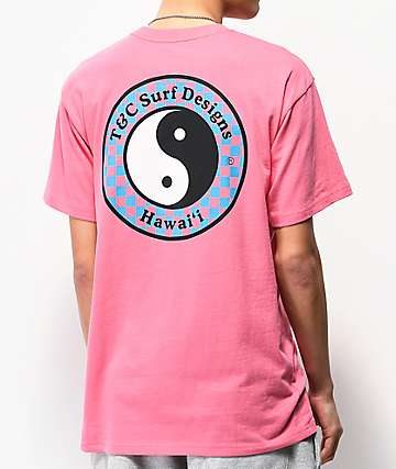 Vans x T&C Checkerboard Magenta T-Shirt