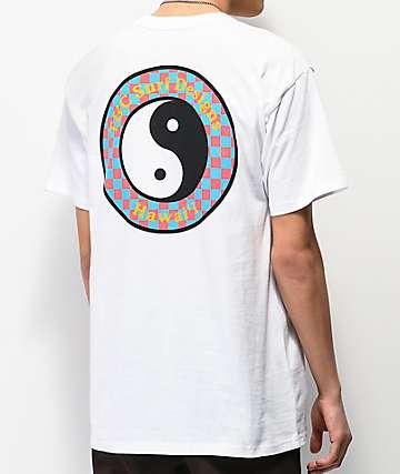Vans x T&C Checkerboard White T-Shirt