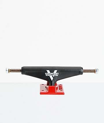 Venture Nitro 5.2 Lo ejes de skate negro y rojo