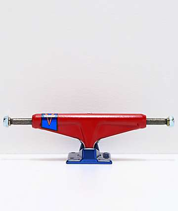 "Venture Pennant Blue & Red 5.2"" Hollow Low Skateboard Truck"