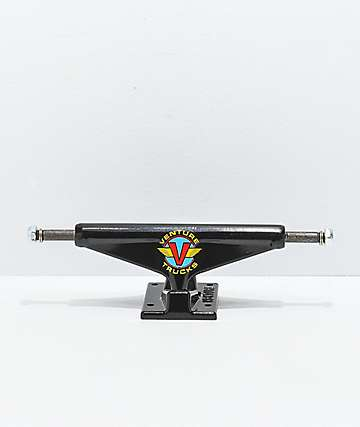 "Venture Wings Black 5.8"" Skateboard Trucks"