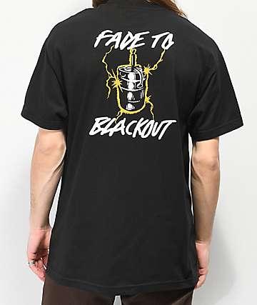 Ver Salvaje Fade To camiseta negra