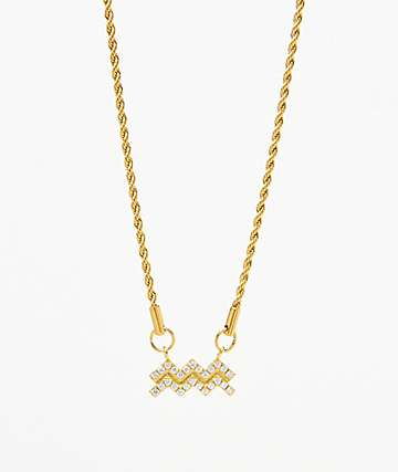 Vesso Aquarius Gold Women's Necklace