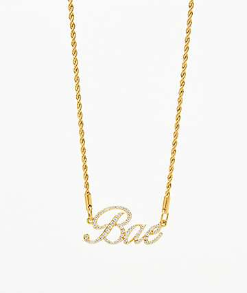 Vesso Bae Gold Women's Necklace