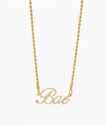Vesso Bae collar de oro para mujer