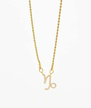 Vesso Capricorn Gold Women's Necklace