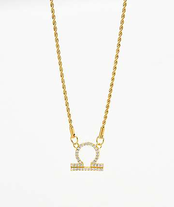 Vesso Libra Gold Women's Necklace