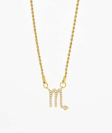 Vesso Scorpio Gold Women's Necklace