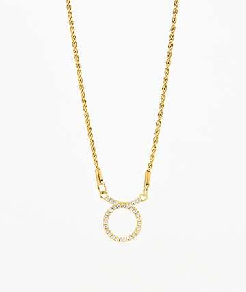 Vesso collar de oro de tauro para mujer