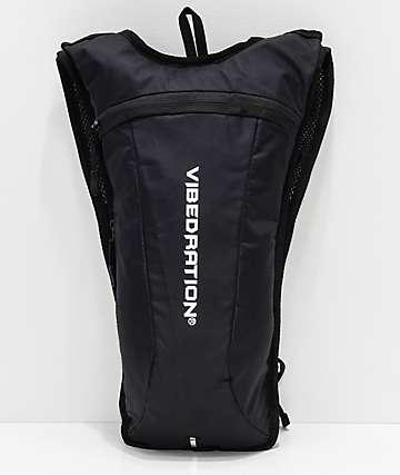 Vibedration GA Athlete Jet Black 2L Hydration Pack