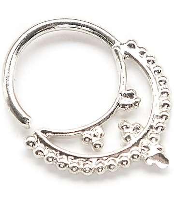 VidaKush Freya anillo septum en plata