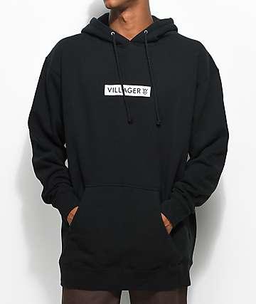 Villager Reynolds Black Hoodie