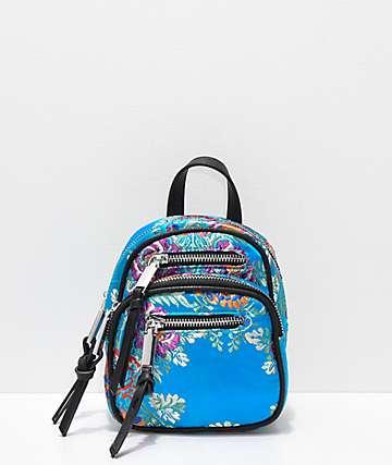 Violet Ray Kimono mini mochila azul