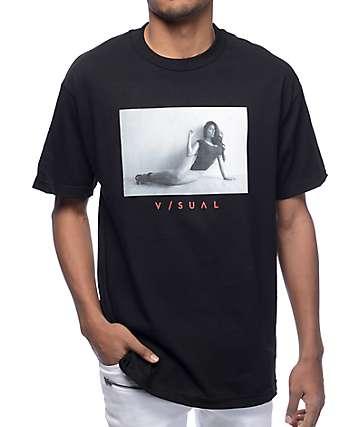 Visual 7 camiseta negra