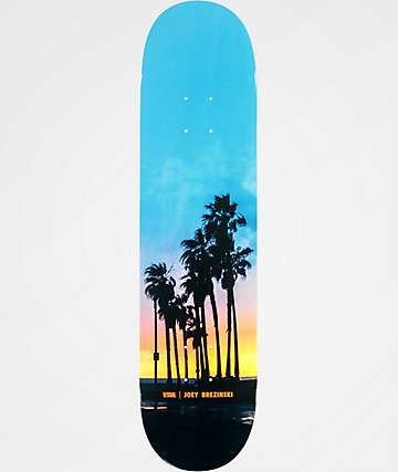 "Visual Joey Sunset 7.75"" Skateboard Deck"