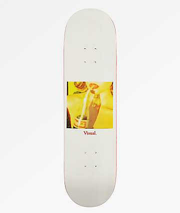 "Visual Lola 8.5"" Skateboard Deck"