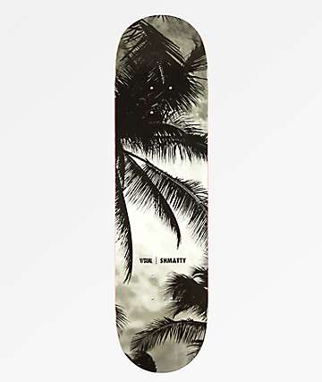 "Visual Shmatty Paradise Noir 8.5"" Skateboard Deck"