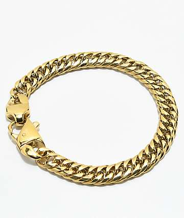 Vitaly Altered Cuban Link Gold Bracelet