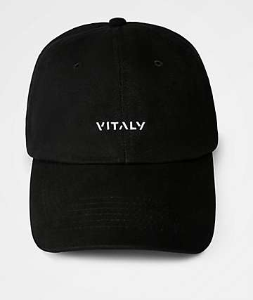 Vitaly Black Dad Hat