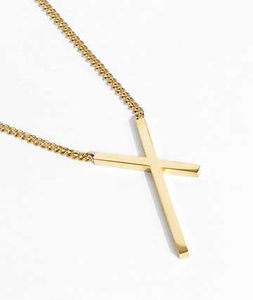 Vitaly Intersekt Gold Necklace