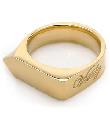 Vitaly Odak X Gold Ring