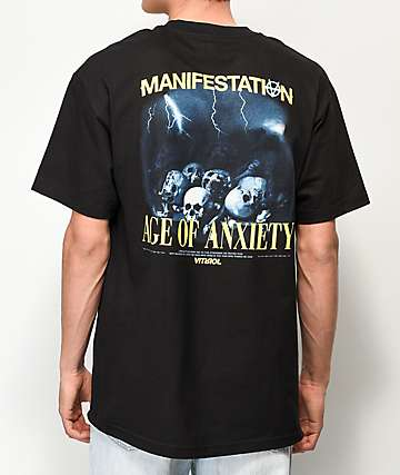 Vitriol Age Of Anxiety Black T-Shirt