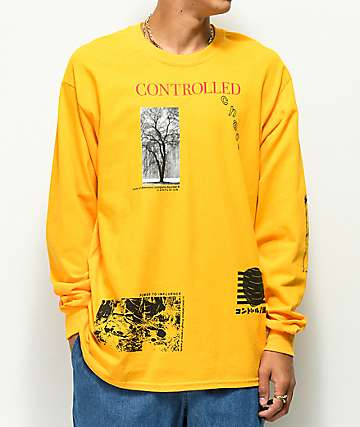 36e7443dacf8d Vitriol Chaos Gold Long Sleeve T-Shirt