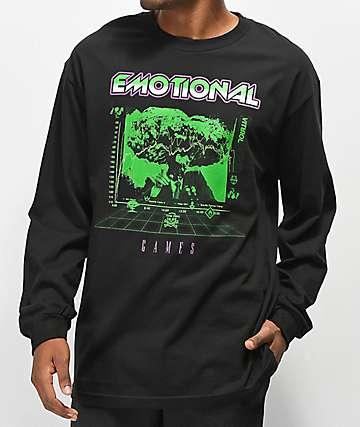 Vitriol Emotional Games camiseta negra de manga larga