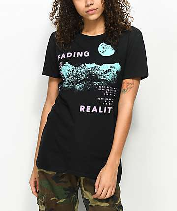 Vitriol Fading Reality Black T-Shirt