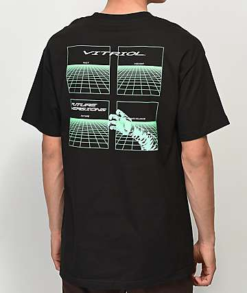 Vitriol Future Versions Black T-Shirt