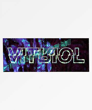 Vitriol Hologram Sticker